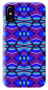 Blue Turquoise And Purple IPhone Case