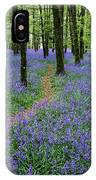 Bluebell Wood, Near Boyle, Co IPhone Case