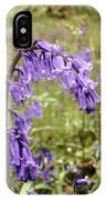 Bluebells (hyacinthoides Non-scripta) IPhone Case