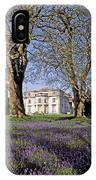 Bluebells In The Pleasure Grounds, Emo IPhone Case