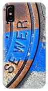 Bluer Sewer Three IPhone Case