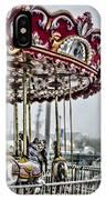 Boardwalk Carousel IPhone Case