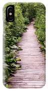 Boardwalk Swamp IPhone Case
