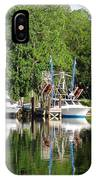Boats Are In IPhone Case