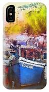 Boats In Italy IPhone Case