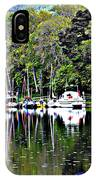 Boats On A River IPhone Case