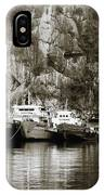 Boats On Halong Bay 1 IPhone Case