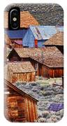 Bodie Ghost Town California IPhone Case