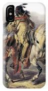 Bodmer: Blackfoot Horseman IPhone Case