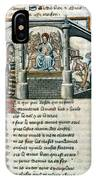 Boethius (c480-524) IPhone Case