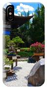 Bonsai Garden IPhone Case