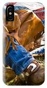 Boots And Quilt On The Trail IPhone Case