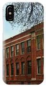Border Star Elementary School Kansas City Missouri IPhone Case