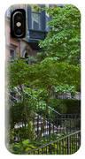 Boston Beacon Hill Street Scenery IPhone Case