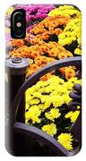 Boston Flowers IPhone Case