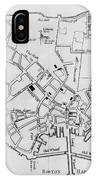 Boston: Map, 1770 IPhone Case