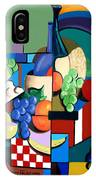 Bottle Of Wine Fruit Of The Vine IPhone Case