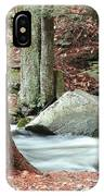 Boulder And Stream IPhone Case