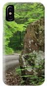 Boulder Rural Mountain Road Spring IPhone Case