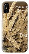 Bounty. Thanksgiving Greeting Card IPhone Case