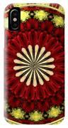 Bouquet Of Roses Kaleidoscope 5 IPhone Case