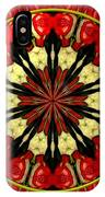 Bouquet Of Roses Kaleidoscope 8 IPhone Case