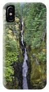 Box Canyon With Flowing Stream, Mount IPhone Case