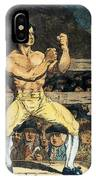 Boxing Champion, 1790s IPhone Case