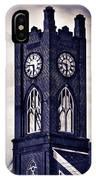 Boyertown Clock Tower IPhone Case