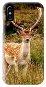 Wildlife Fallow Deer Stag IPhone Case