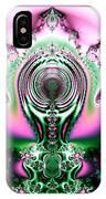 Brain Power Full Of Ideas Fractal 117 IPhone Case