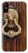 Brass Door Knocker IPhone Case