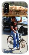 Bread On A Bicycle IPhone Case