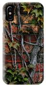 Brick And Ivy IPhone Case