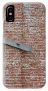 Brick Wall Cross IPhone Case