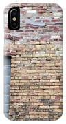 Brick Wall Window IPhone Case