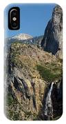 Bridal Veil In The Distance IPhone Case