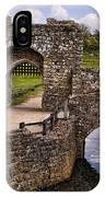 Bridge At Leeds Castle IPhone Case