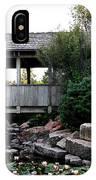 Bridge Over Water IPhone Case