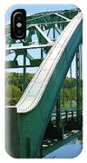 Bridge Spanning Connecticut River IPhone Case