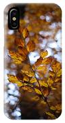 Brilliant Leaves IPhone Case