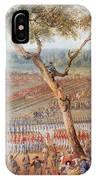 British Troops Surrender At Yorktown IPhone Case