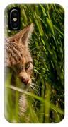 British Wild Cat IPhone Case