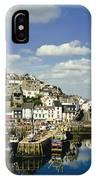 Brixham Harbor IPhone Case