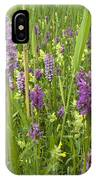 Broad-leaved Marsh Orchid Dactylorhiza IPhone Case