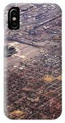 Broncos Stadium Aerial IPhone Case