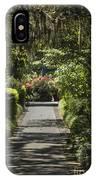 Brookgreen Gardens Path IPhone Case