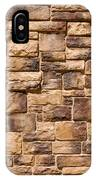 Brown Brick Wall IPhone Case