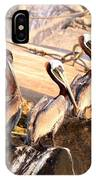 Brown Pelican - Holding Things Together IPhone Case