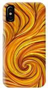 Brown Swirl IPhone Case